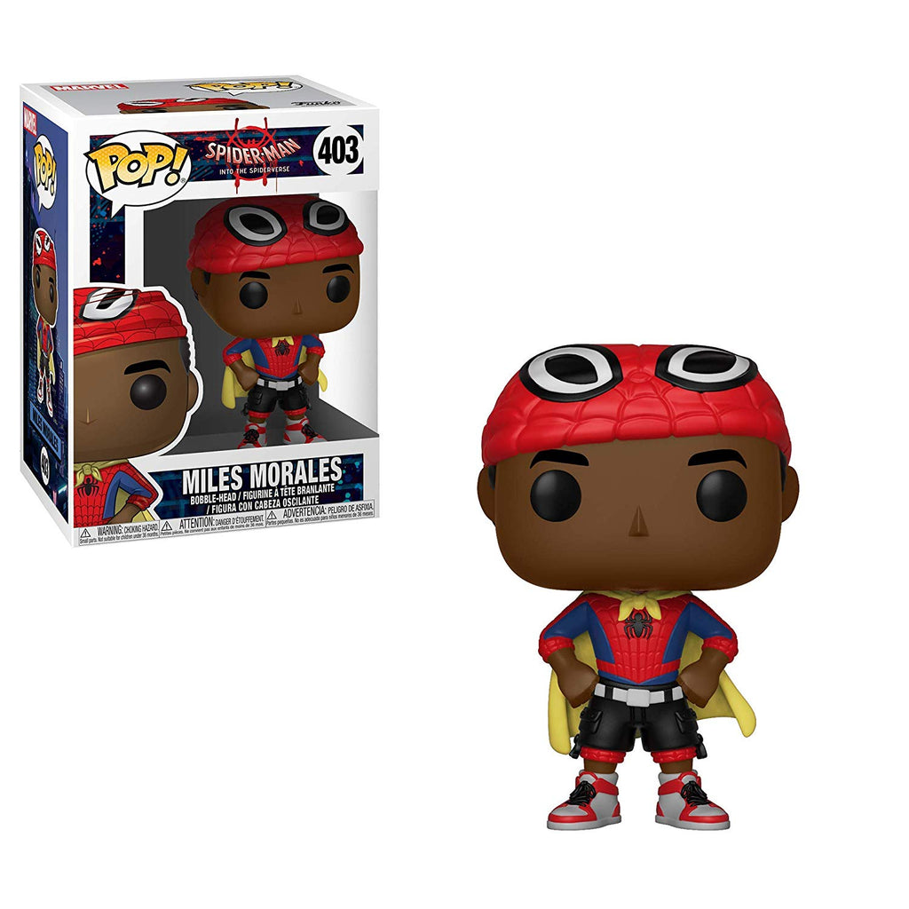 Funko POP! Marvel Animated Spider-Man Miles Morales with Cape Vinyl Figure #403