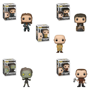 Game of Thrones Funko POP! TV Set of 5 Vinyl Figures Lord Varys, Yara Greyjoy, Bran Stark, Children of The Forest and Gendry