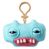 Fuggler Funny Ugly Monster, Collectible Plush Clip-On, Gap-Tooth McGoo - Light Blue