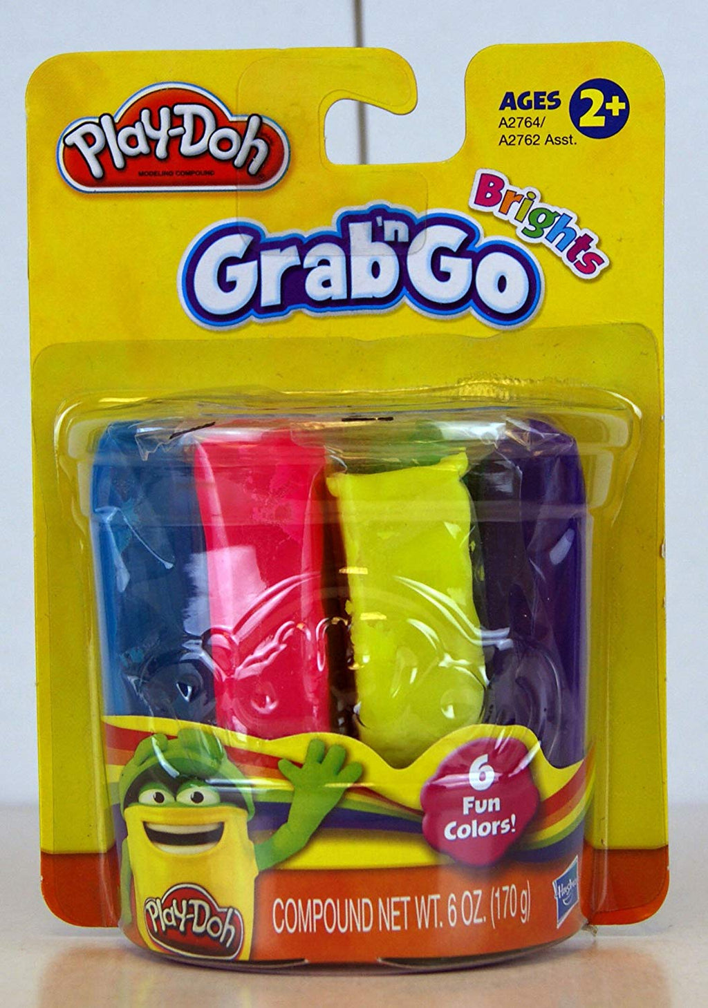 Play-Doh Bright Colors Grab and Go 6 Pack - Zolo's Room