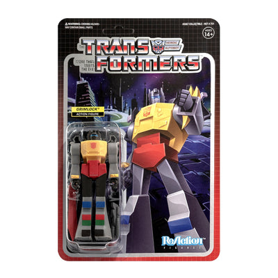 Transformers ReAction Figure - Grimlock