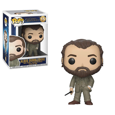 Harry Potter Fantastic Beasts The Crimes of Grindelwald Funko POP! Movies Albus Dumbledore Vinyl Figure #15