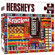 Hershey's Matrix - Chocolate Collage 1000 Piece Jigsaw Puzzle - Zolo's Room