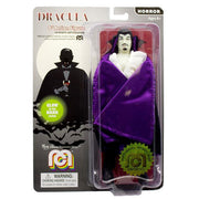 "Horror Wave 6 - Dracula 8"" Action Figure (Cape With Purple Lining, Glow In The Dark)"