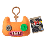 Fuggler Funny Ugly Monster, Collectible Plush Clip-On, Indecisive Monster - Orange