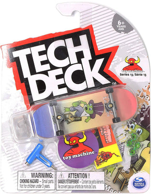 Tech Deck 96mm Fingerboard Series 13 Toy Machine - Jeremy Leabres