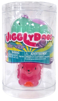 JigglyDoos Series 2 Green Bear & Pink Hedgehog 2-Pack - Zolo's Room