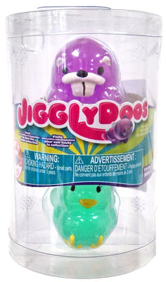 JigglyDoos Series 2 Purple Beaver & Green Turkey 2-Pack - Zolo's Room