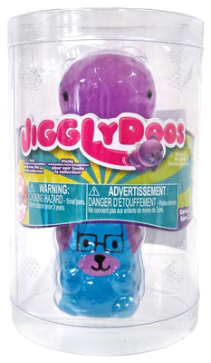 JigglyDoos Series 2 Purple Whale & Blue Dog 2-Pack - Zolo's Room