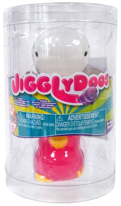 JigglyDoos Series 2 White Whale & Pink Chick 2-Pack - Zolo's Room
