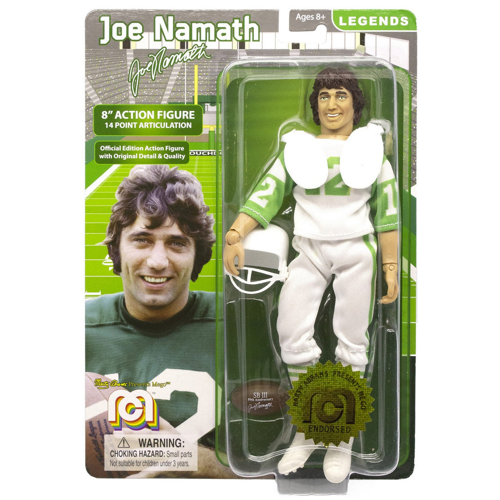 "Legends Joe Namath 8"" Action Figure"