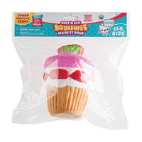 Soft'N Slo Squishies Jumbo Sweet Shop Stawberry Cupcake Scented Squeeze toy