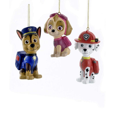 Paw Patrol Ornaments - Set of 3 by Kurt Adler