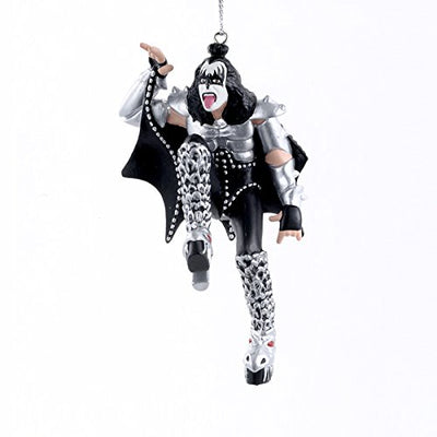 KISS The Demon Gene Simmons Blow Mold Christmas Ornament
