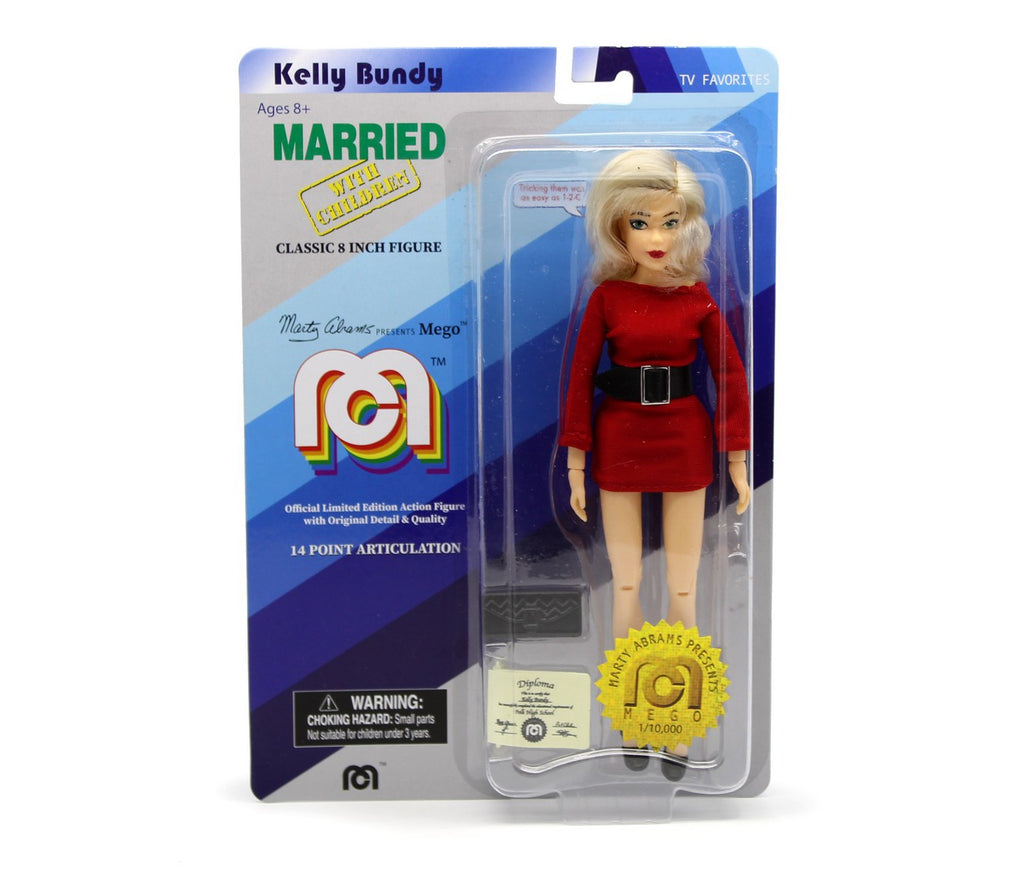 "TV Favorites Married with Children Kelly Bundy 8"" Action Figure"