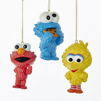 Sesame Street Cuties Ornaments - Set of 3 by Kurt Adler