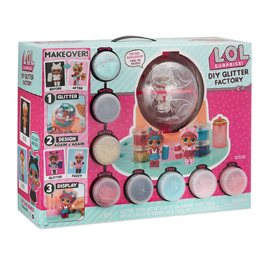L.O.L Surprise Makeover Series DIY Glitter Factory Playset