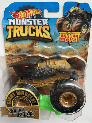 Hot Wheels Monster Truck Loco Punk Die-Cast Truck