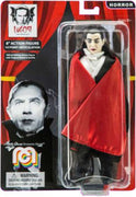 "Horror Dracula 8"" Action Figure With Red Cape"