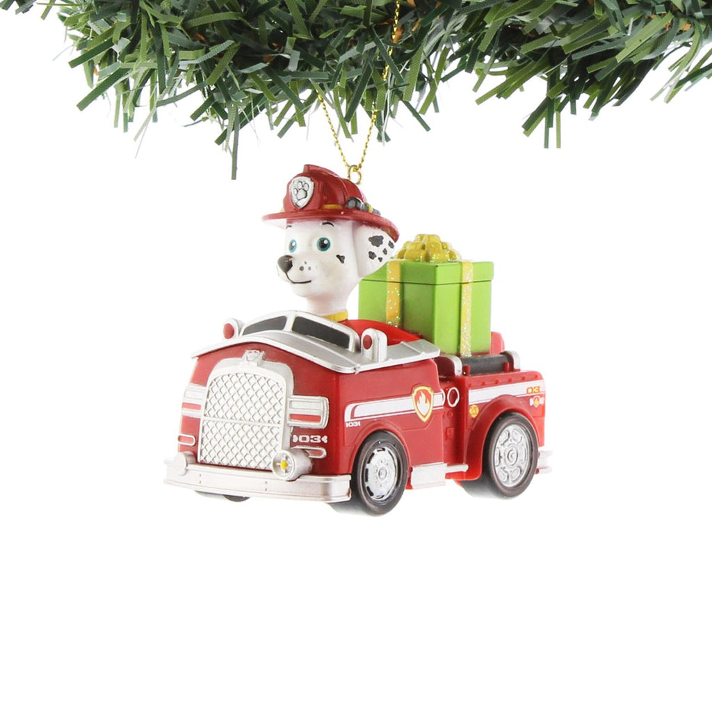 Paw Patrol Truck - Marshall Ornament by Kurt Adler