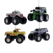 Monster Jam Blow Mold Ornaments Set of 4 - Zolo's Room