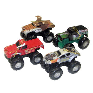 Monster Jam Truck Ornaments - Zolo's Room