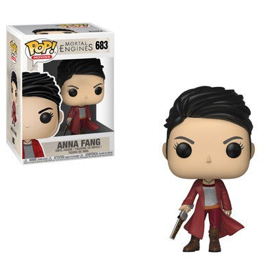 Mortal Engines Funko POP! Movies Anna Fang Vinyl Figure #683