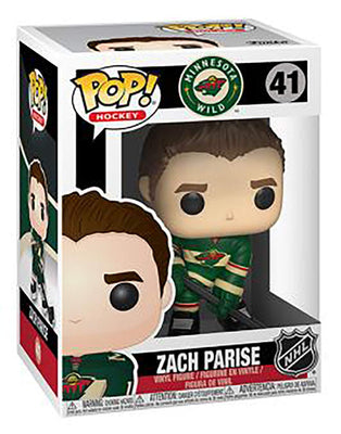 NHL Minnesota Wild Funko POP! Sports Zach Parise Vinyl Figure #41