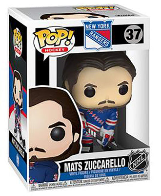 NHL New York Rangers Funko POP! Sports Mats Zuccarello Vinyl Figure #37