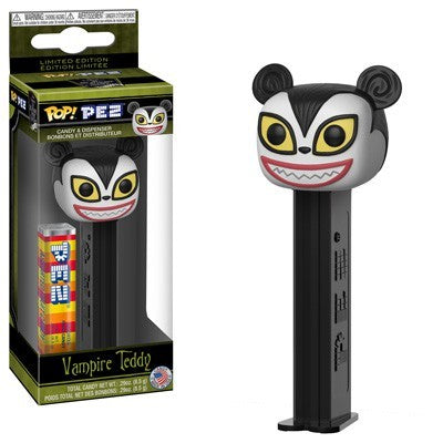 Nightmare Before Christmas Funko POP! PEZ Vampire Teddy Candy Dispenser