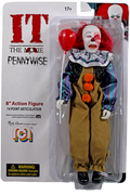 "Horror Wave 10 - IT Pennywise (Burnt) 8"" Action Figure"