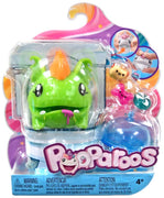 Pooparoos Green Monster Figure Pack