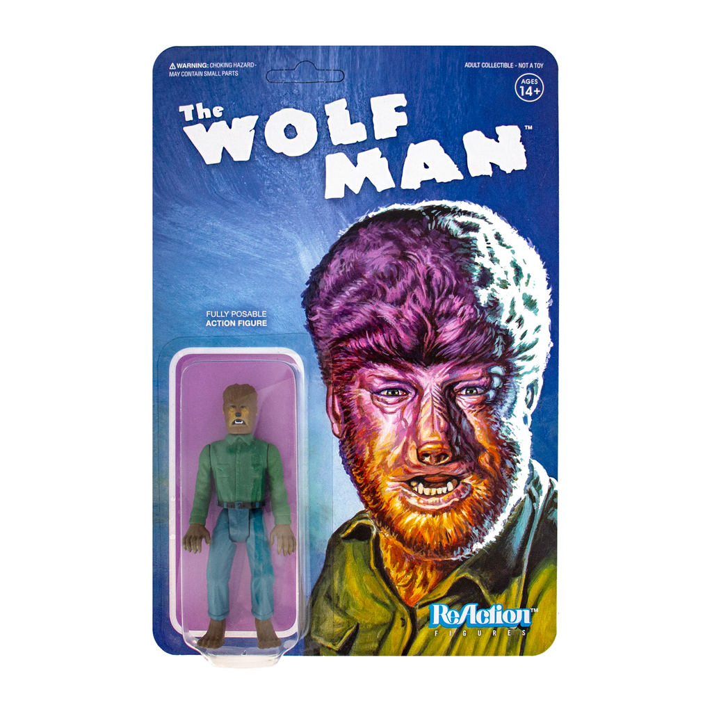 Universal Monsters ReAction Figure -  The Wolf Man