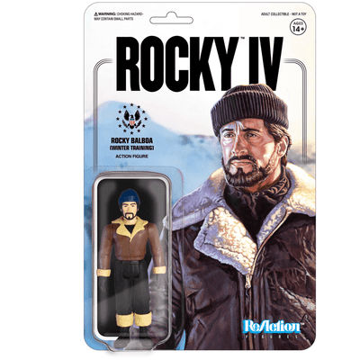 ReAction Rocky IV Rocky Balboa (Winter Training) Action Figure