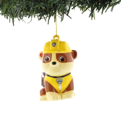 Paw Patrol Rubble Ornament by Kurt Adler