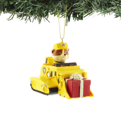 Paw Patrol Truck - Rubble Ornament by Kurt Adler