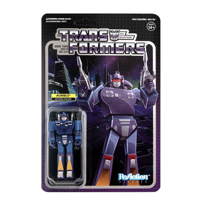 Transformers ReAction Figure - Rumble