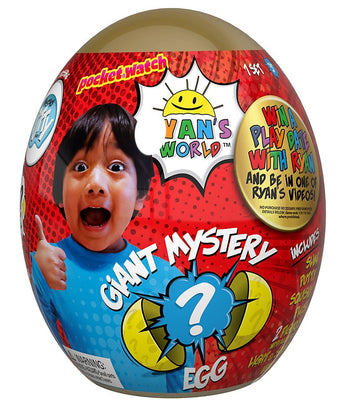 Ryan's World Giant Egg Exclusive Mystery Surprise (GOLD)