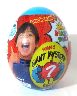 Ryan's World Giant Egg Mystery Surprise (Blue Series 2)
