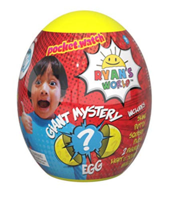 Ryan's World Giant Egg Mystery Surprise (YELLOW)