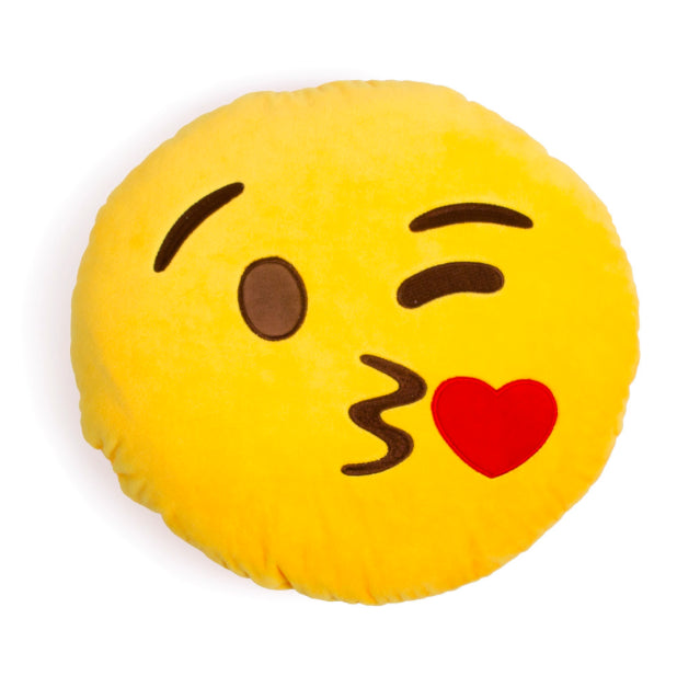 Blowing Kiss Emoji Pillow - Zolo's Room