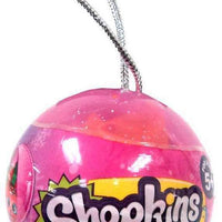 Shopkins 2017 Christmas Bauble Ornament 6 Packs