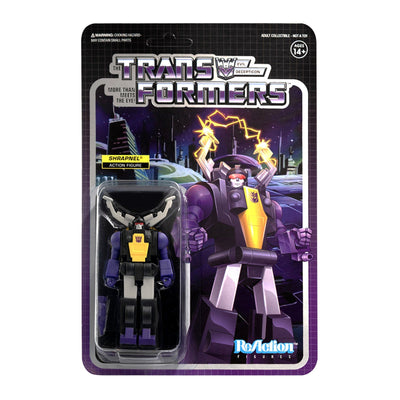 Transformers ReAction Figure - Shrapnel