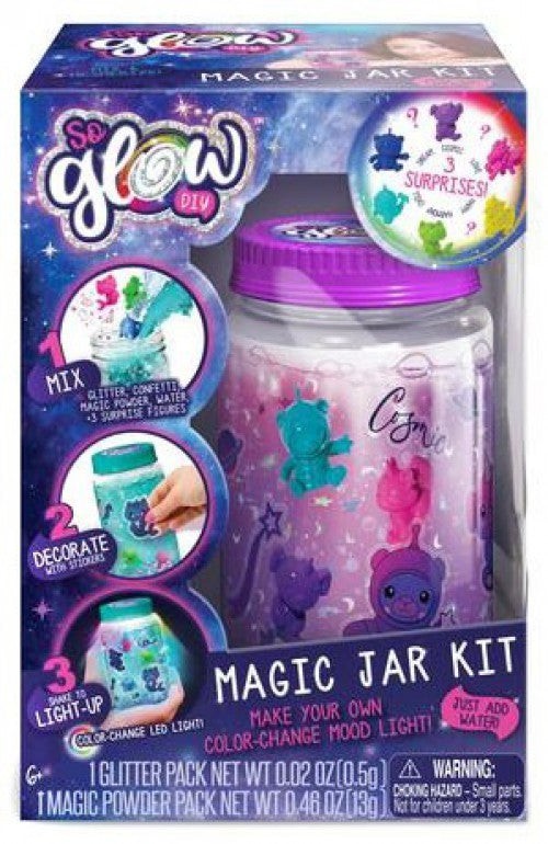 So Glow DIY Magic Jar Cosmic Kit