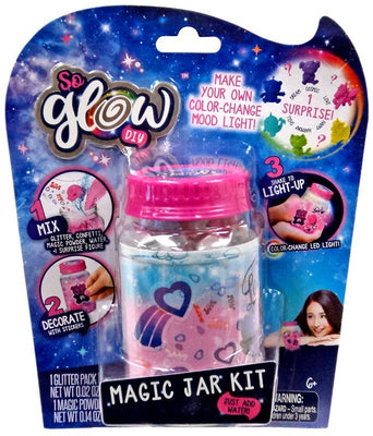 So Glow DIY Mini Magic Jar Love Kit Pink