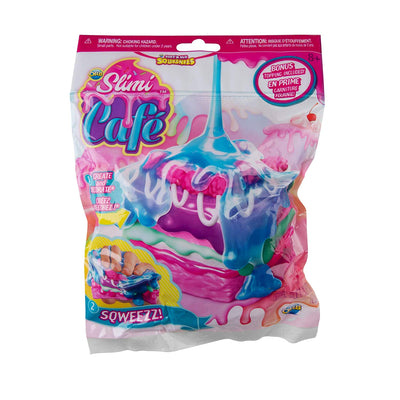 Soft'N Slo Squishies Slimi Cafe Raspberry Square Cake Squeeze Toy