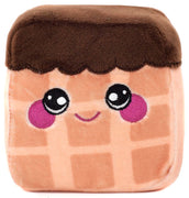 Squeezamals Dessert Series Graham Chocolate Waffle 3.5-Inch Plush