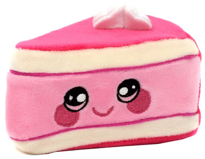 Squeezamals Dessert Series Jameson Raspberry Cheese Cake 3.5-Inch Plush