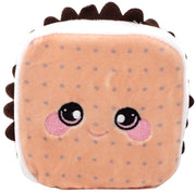 Squeezamals Dessert Series Teddy S'More 3.5-Inch Plush