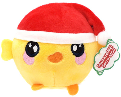 Squeezamals Holiday Series Holly Chick 3.5-Inch Plush